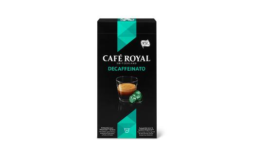 Café Royal, Decaffeinato